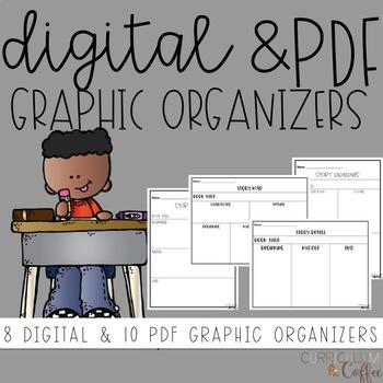 Graphic Organizers: Digital & Printable