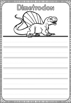 Graphic Organizers: Dimetrodon : Dinosaurs