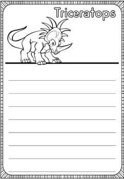 Graphic Organizers: Dinosaurs : Triceratops