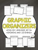 Graphic Organizers (ELA and Speaking and Listening)
