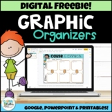 Graphic Organizers FREEBIE - Digital and Printable