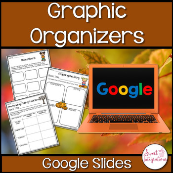 DIGITAL GRAPHIC ORGANIZERS WITH FALL THEME: GOOGLE DRIVE™