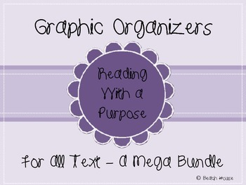 Graphic Organizers For All Text - A Mega Bundle