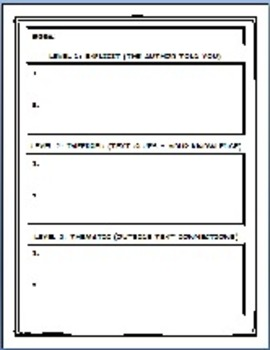 Graphic Organizers Freebie