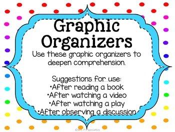 Graphic Organizers {Freebie}
