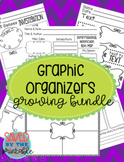 Graphic Organizers Growing Bundle