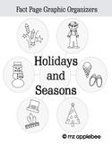 Graphic Organizers: Holidays and Seasons