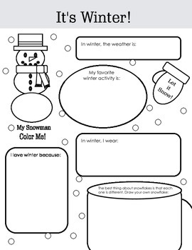 Graphic Organizers: Holidays and Seasons