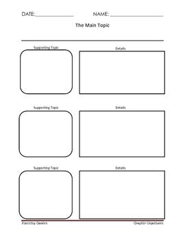 Graphic Organizers K-3