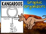 Graphic Organizers Set : Kangaroos - Animals : Australia, New Zealand