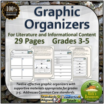 Graphic Organizers - Literature and Informational Text