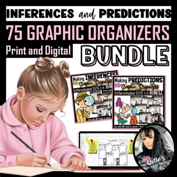 Graphic Organizers (Making Inferences and Predictions) - 75 Graphic Organizers!