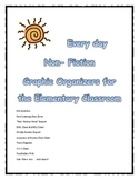 Graphic Organizers- Non Fiction (12!)