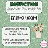 Graphic Organizers | Nonfiction Bundle | Informational Tex