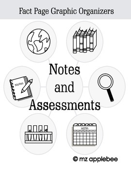Graphic Organizers: Notes and Assessments