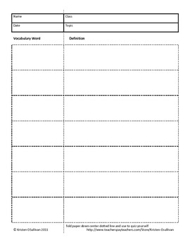 Graphic Organizers, Notetaking Templates, Interactive Notebook Organizers