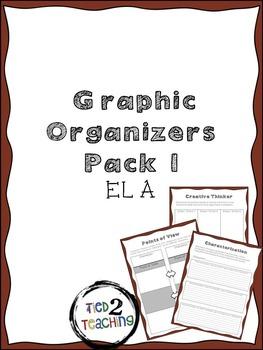 Graphic Organizers Pack 1 (ELA)