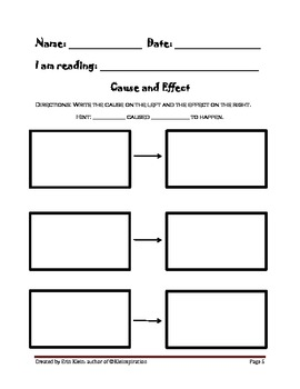 Graphic Organizers Pack