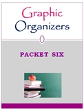 Graphic Organizers Packet Six: Mini Pack