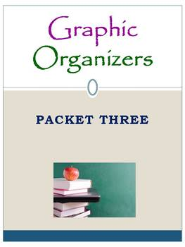 Graphic Organizers Packet Three: Mini Pack