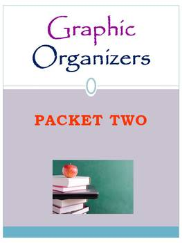 Graphic Organizers Packet Two: Mini Pack