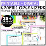 Distance Learning Digital Graphic Organizers | Reading | Writing