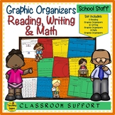 Graphic Organizers:  Reading, Writing and Math
