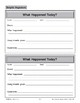 Graphic Organizers: Record Sheet and Note takers