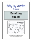 Graphic Organizers-Retelling Sheets