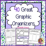 40 Great Graphic Organizers