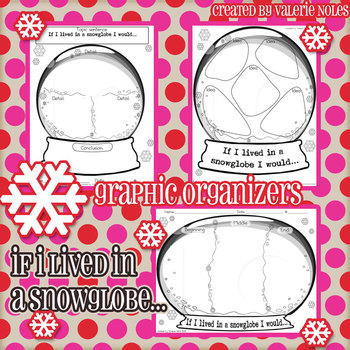 Graphic Organizers: Snowglobe Activity