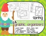 Graphic Organizers: Spring: KWL, T charts, Venn diagrams