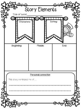 Reading Graphic Organizers for Reading Comprehension: St. Patrick's Day themed
