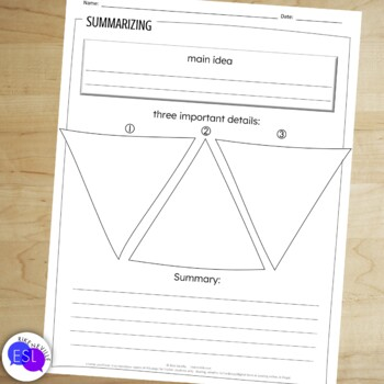 Summarizing: Graphic Organizers and Activities