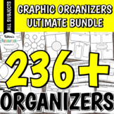 Graphic Organizers Ultimate Bundle: Organizational Tools f