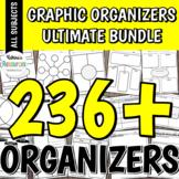 Graphic Organizers Ultimate Bundle: Organizational Tools f
