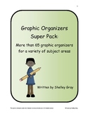 Graphic Organizers Super Pack: more than 65 graphic organizers