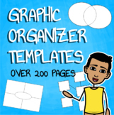 Blank Graphic Organizer Bundle for All Grade Levels