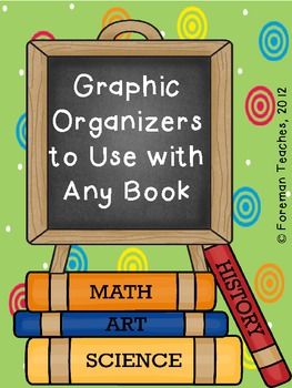 Graphic Organizers That Can Be Used With Any Book