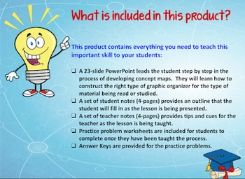 Graphic Organizers and Concept Maps: Tools for Mastering Science Concepts