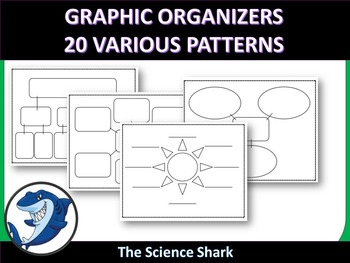 Graphic Organizers - 20 Various Patterns