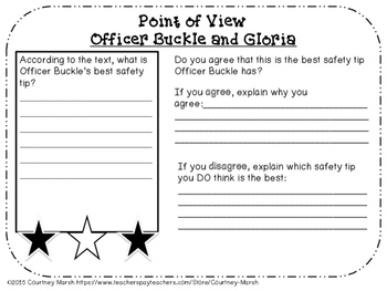 Graphic Organizers and Activities for ANY book, AND for Officer Buckle