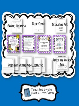 Graphic Organizers and Blank Book Bundle
