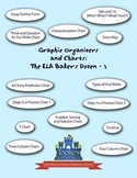 Graphic Organizers and Charts: The ELA Baker's Dozen + 1