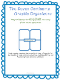 Graphic Organizers for 7 Continents- Instruction or Indivi
