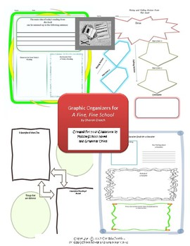 Graphic Organizers for A Fine, Fine School