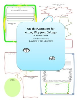 Graphic Organizers for A Long Way from Chicago