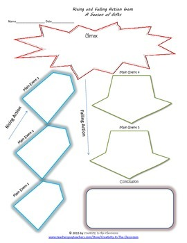 Graphic Organizers for A Season of Gifts