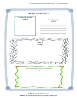 Graphic Organizers for A Step from Heaven