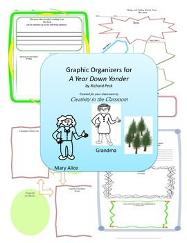 Graphic Organizers for A Year Down Yonder